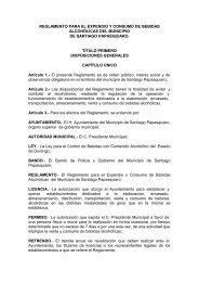 reglamento para el expendio y consumo de bebidas alcohólicas del ...