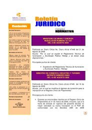 boletin juridico septiembre - Superintendencia de Industria y Comercio