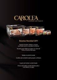 Recetas Navidad 2011 - Sella Catering