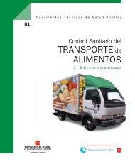 Control Sanitario del Transporte de Alimentos - Publicaciones de ...