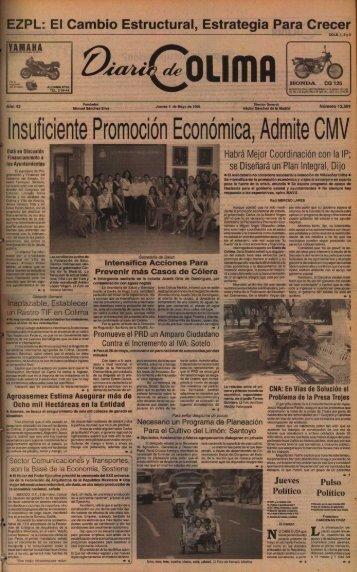 Insuficiente Promoción Económica, Admite CMV - Universidad de ...