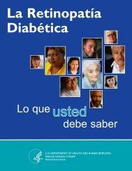 La Retinopatía Diabética: Lo que usted deber saber - National Eye ...