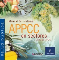 Manual del sistema APPCC en sectores productivos - Junta de ...