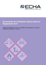 Guia de Orientacion CLP - InfoREACH