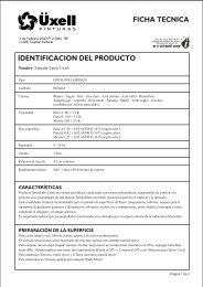 Epoxi TECNICA 1 - PINTURAS UXELL