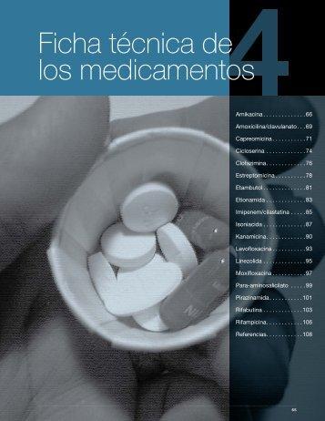 Capítulo 4. Ficha técnica de los medicamentos