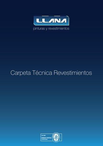 Carpeta Técnica Revestimientos - Química Llana - Pinturas y ...