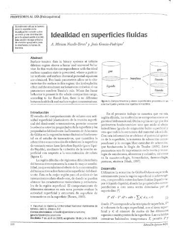 PROFESORES AL DiA [Fisicoquímica] - DePa - UNAM