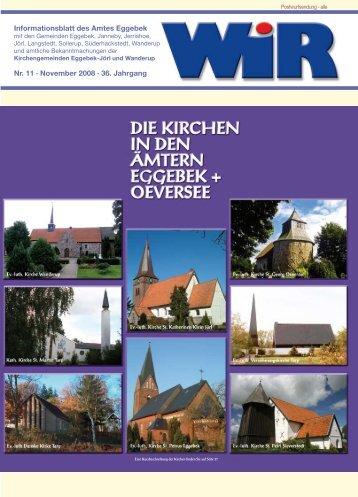 Nr. 11 · November 2008 · 36. Jahrgang ... - Amt Eggebek