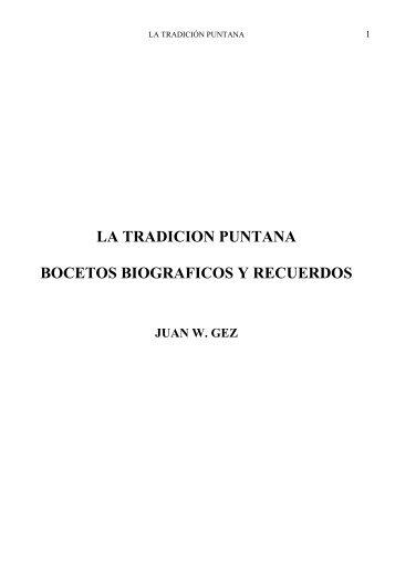 La Tradición Puntana - Gobierno de San Luis