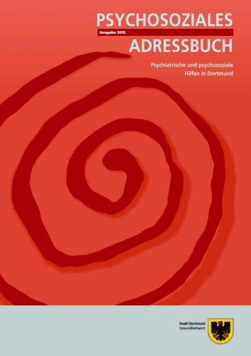 Psychosoziale Adressbuch - Arbeitslosenzentrum Dortmund ev