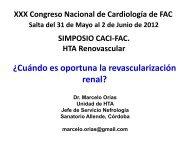 ¿Cuándo es oportuna la revascularización renal? - CACI