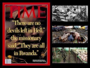 Rwanda: A case Study in Ethical and Leadership Dilemas