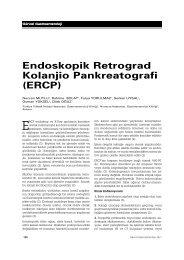 Makale PDF - Güncel Gastroenteroloji - Türk Gastroenteroloji Vakfı