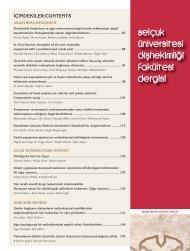 dişhekimliği 17-2.pdf - Selçuk Üniversitesi | Diş Hekimliği Fakültesi