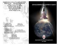 Apostolado de la Nueva Evangelización (ANE) - Comunidades