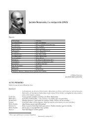 Jacinto Benavente, La malquerida (1913)