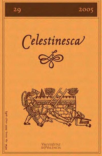 La Celestina - Parnaseo - Universitat de València