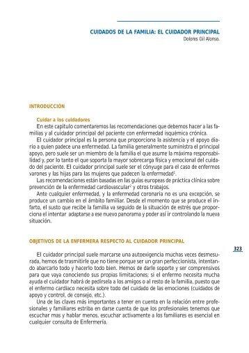 Cuidados de la familia. El cuidador principal - Asociación Española ...