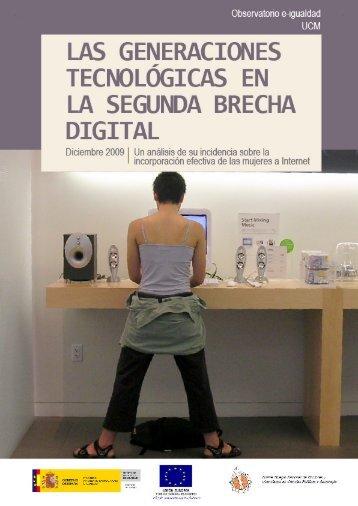 Las generaciones tecnológicas en la segunda brecha ... - E-Igualdad