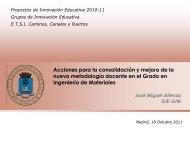 ver memoria - Bienvenido al Portal de Innovación Educativa UPM ...