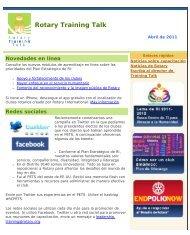 Abril - Rotary International