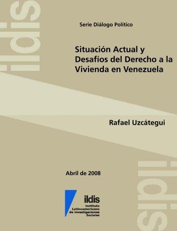 Situacion actual y desafios del derecho a la vivienda en Venezuela