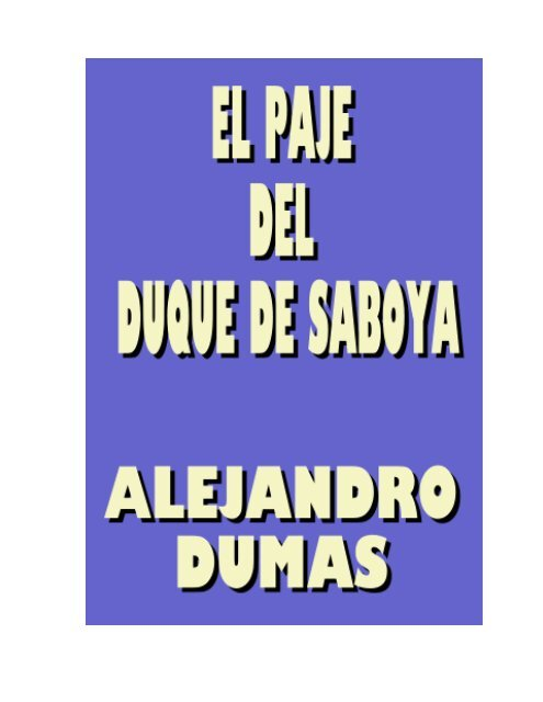 Alejandro Dumas - adrastea80.byetho...