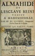 Almahide, ou, L'esclave reine : dédiée à Mademoiselle - Page 7