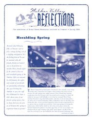 Spring 2004 - Great Smoky Mountains Institute at Tremont