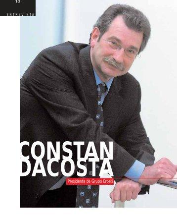 Entrevista: Constan Dacosta presidente de Grupo Eroski