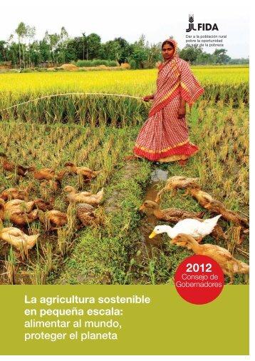 La agricultura sostenible en pequeña escala: alimentar al ... - IFAD
