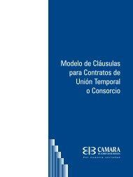 Modelo de Cláusulas para Contratos de Unión Temporal o Consorcio
