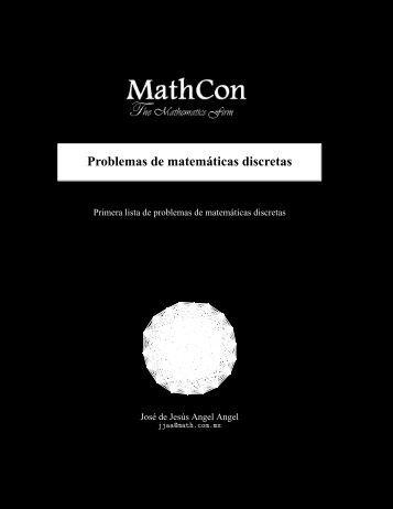 Problemas de matemáticas discretas - Math.com.mx