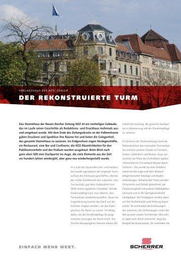 Erfahrungsbericht - Scherrer Metec AG