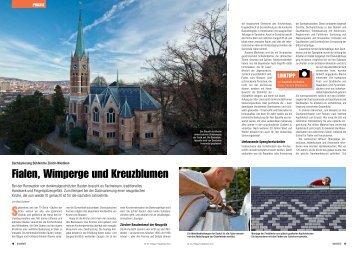 Bericht Baublatt (PDF) - Scherrer Metec AG