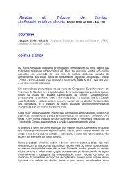 Contas e Ética - Joaquim Carlos Salgado - Portal Conselhos MG