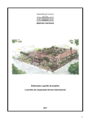 Elaboração e Gestão de Projetos - Arquivo Público