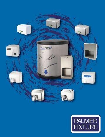 Palmer Fixture Restroom Hand Dryer Brochure - HandDryerSupply ...