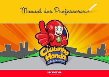 manual do professor - Honda