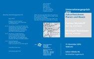 Unternehmergespräch 2010 Zukunftssicheres Planen und Bauen ...