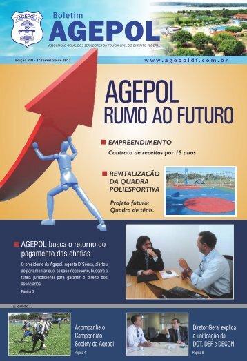 Edição VIII - 1º semestre de 2012 - agepol df
