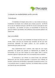 Licitação na modalidade carta-convite - Observatório Social do Brasil