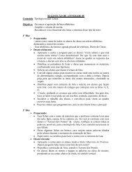 SUGESTÇÃO DE ATIVIDADE 05 Conteúdo: Tipologia textual: Listas ...