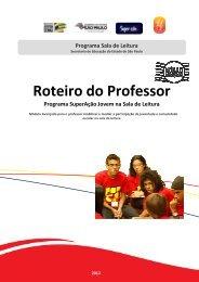 Roteiro do Professor - Centro de Referência em Educação Mario ...