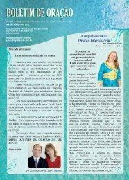 Boletim Março - 2012 - Secretaria Geral de Missões