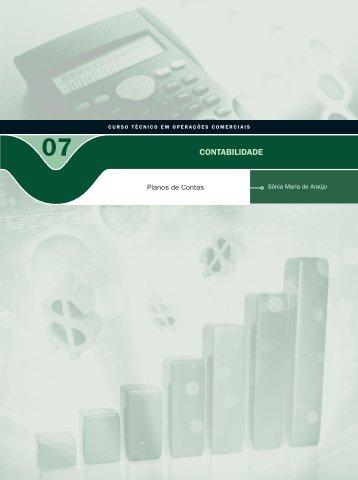 Contabilidade VII - Rede e-Tec Brasil - Ministério da Educação