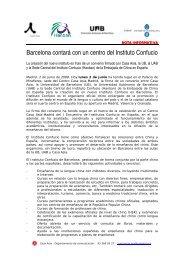 Barcelona contará con un centro del Instituto Confucio - Casa Asia