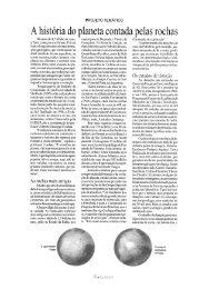 A história do planeta contada pelas rochas - Revista Pesquisa ...