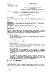CAPITULO 2 - A HISTORIA DO VELHO TESTAMENTO CONTADA ...